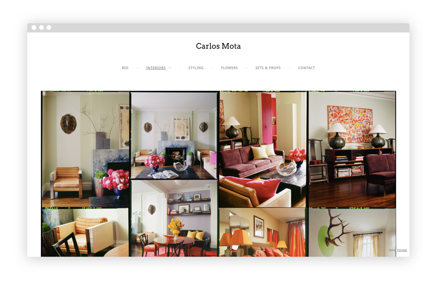10 Interior Design Portfolio Website