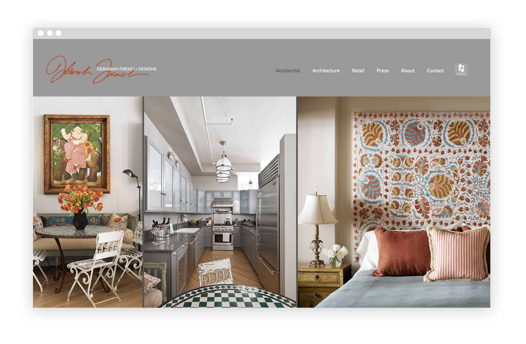 Merveilleux 12 Interior Design Portfolio Website Examples We Love
