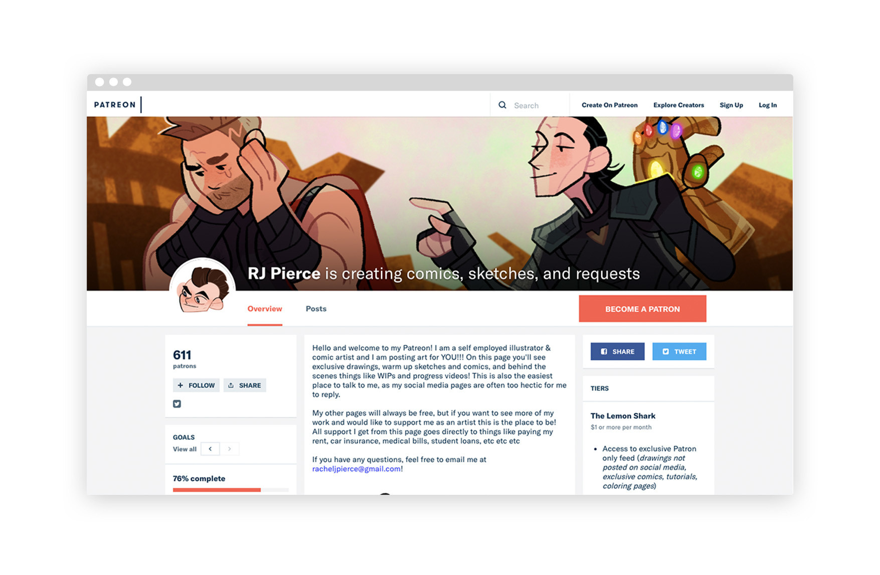 The Artists Making a Living (or Trying to) with Patreon