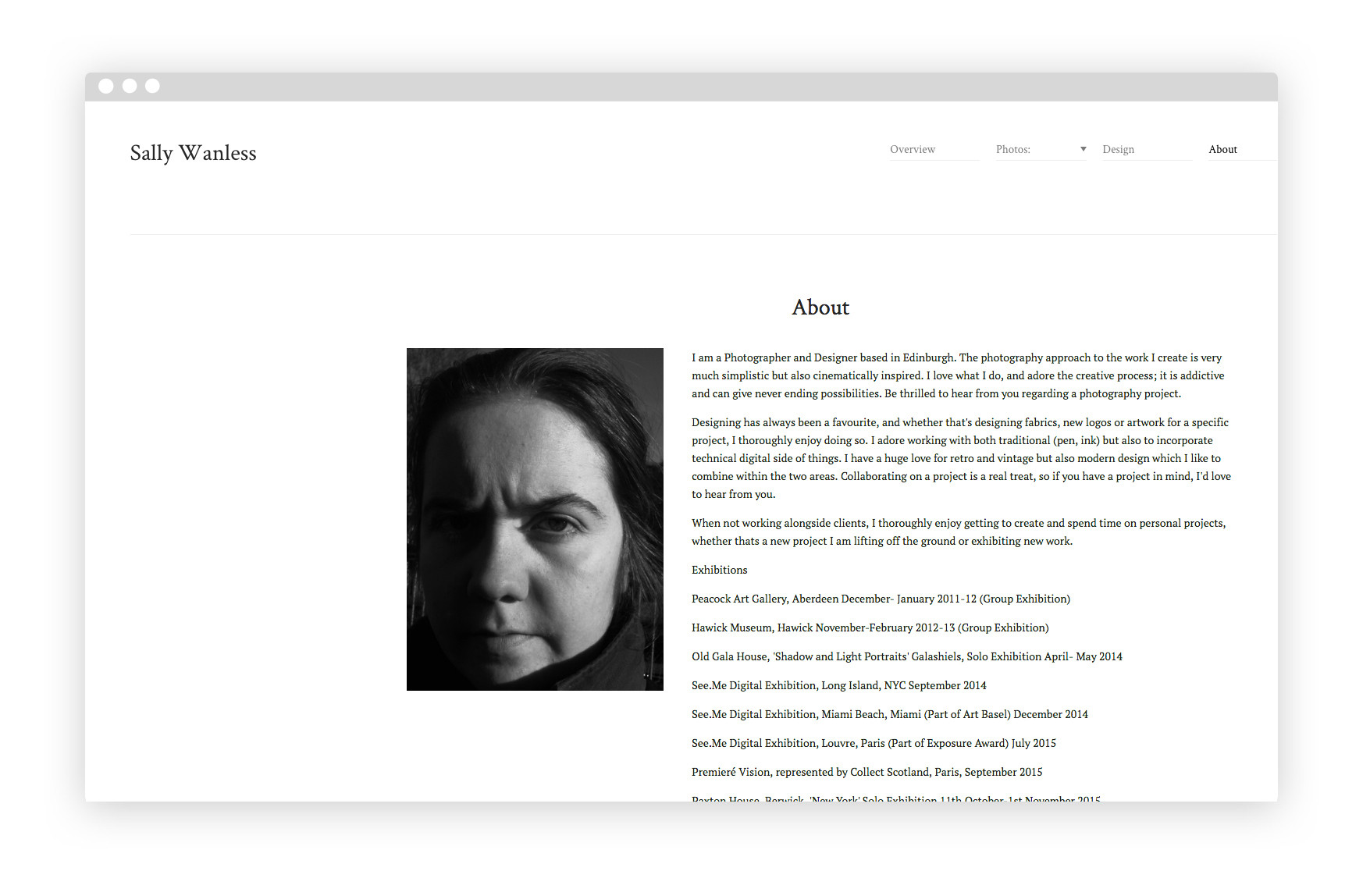 7 Steps for Writing Your Portfolio's Biography 'About Me' Page