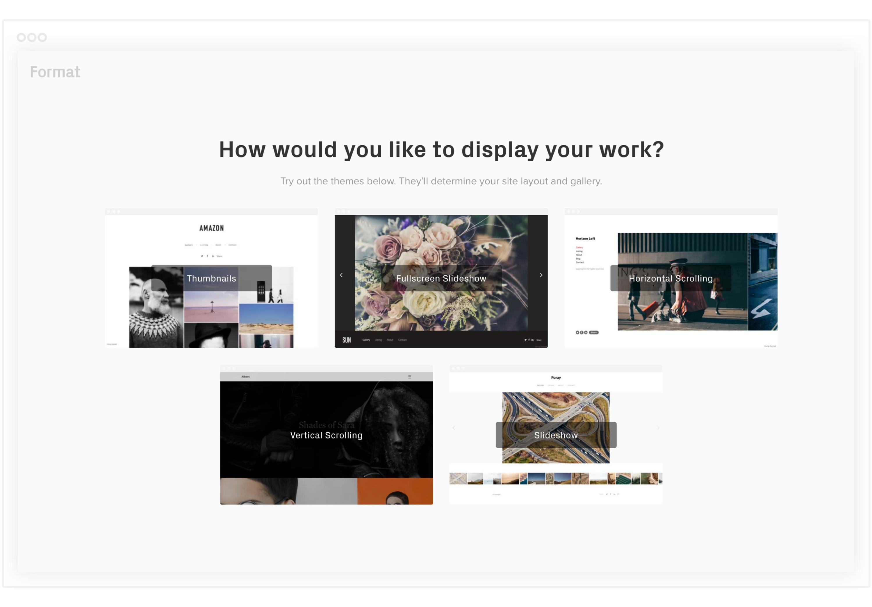 ed9e10ff3 The first choice you'll make when setting up your online portfolio is how  you want your theme to look. No pressure, though—if you decide later that  you ...