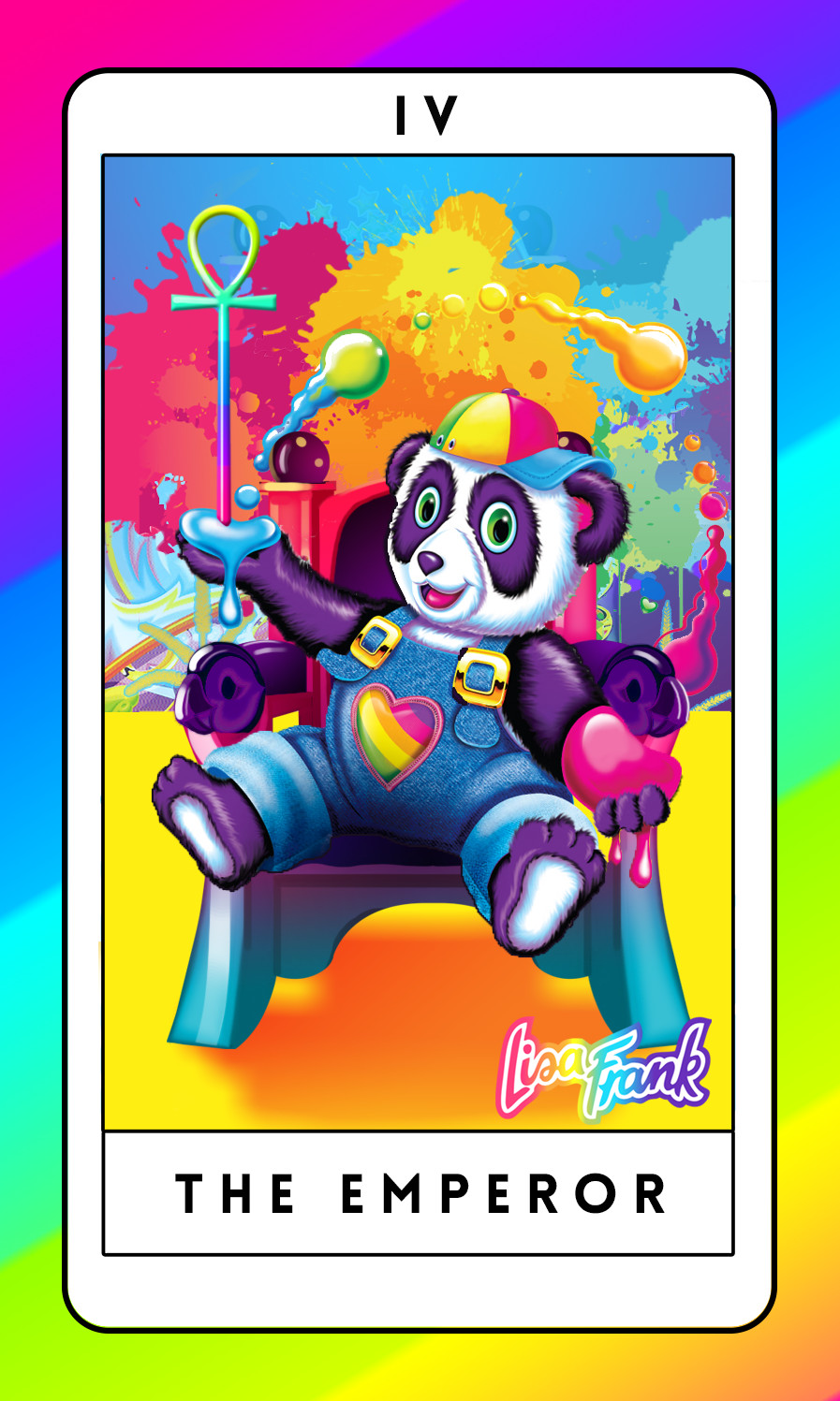 photograph relating to Printable Tarot Cards With Meanings identified as Designer Lisa Frank Tarot Playing cards, Sure Rather